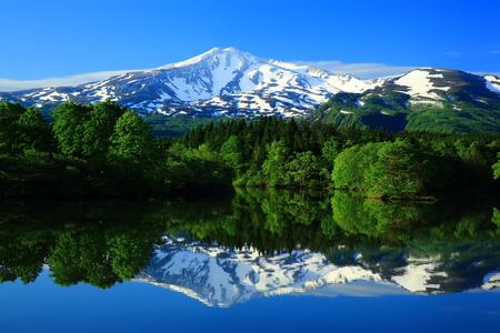Scenery of Green Mt. chokai