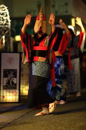 Nishimonai Bon dancing Stockfoto - 113726708