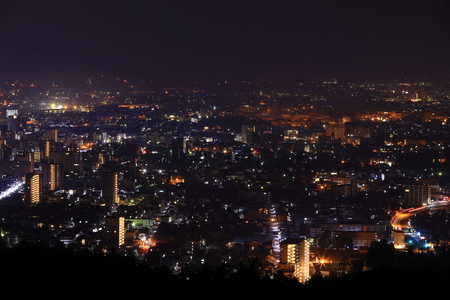 Night view of Morioka