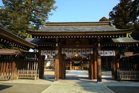 Kitakami Suwa-Jinja shrine 写真素材 - 118948020
