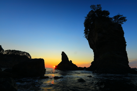 Sanno rocks glow Reklamní fotografie