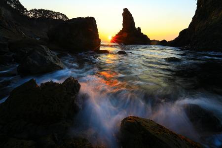 Sanno rocks glow 版權商用圖片