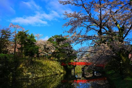 Aomori Prefecture Spring Hirosaki Park 写真素材 - 122456291