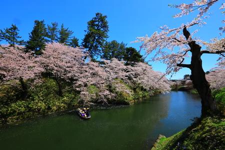 Aomori Prefecture Spring Hirosaki Park 写真素材 - 122456523