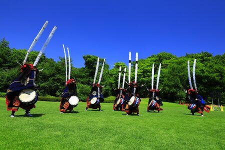 Folk Performing Arts Dance, Kitakami City, Iwate Prefecture