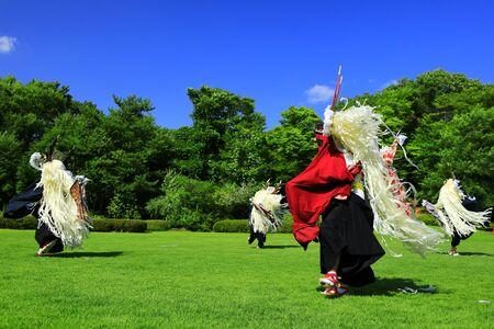 Iwate folk art Banque d'images - 129405265