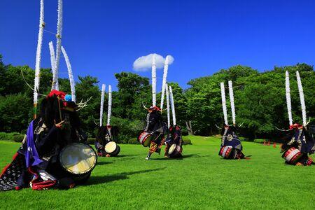 Kitakami Arts Festival Stock Photo