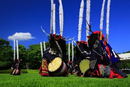 Kitakami Arts Festival Banque d'images - 129405469