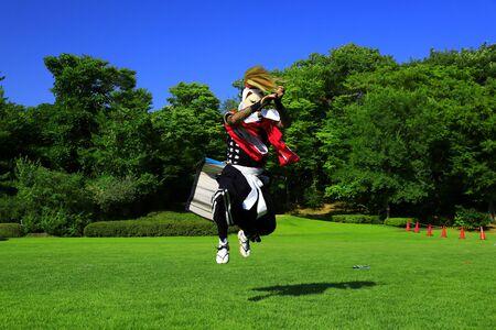 Kitakami Arts Festival Banque d'images - 129405550