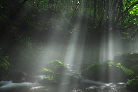 Xia Yuan falls subsoil water Banque d'images