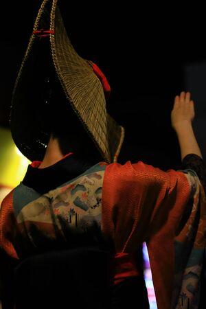 Nishi-Manauchi Bon Dance Stockfoto - 132366610