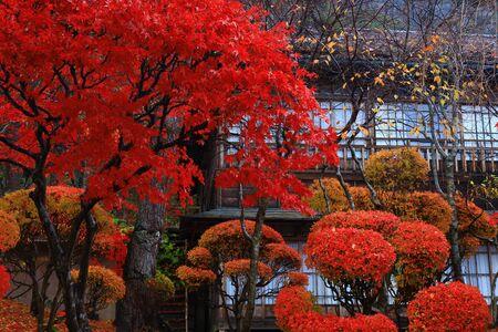 The inn of the autumn leaves in Hanamaki City, Iwate Prefecture