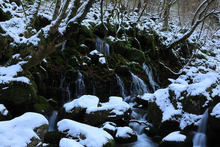 Akita Winter Falls