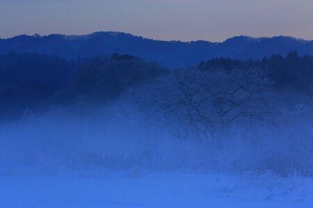 Zimowe pejzaże śnieżne