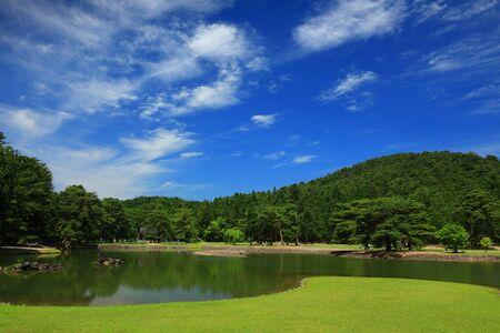 World Heritage Moetsu-ji Temple in early summer