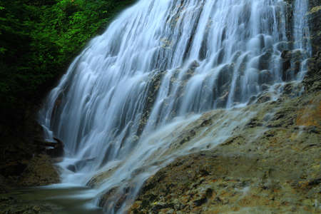 Summer Falls, Yahagi Town, Iwate Prefecture 版權商用圖片