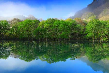 Iwate-Ken Fresh Green Lake