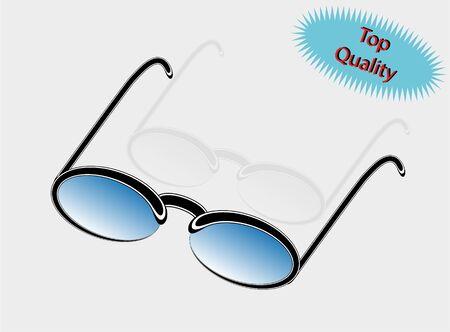 ocular: Vector illustration of sun glasses