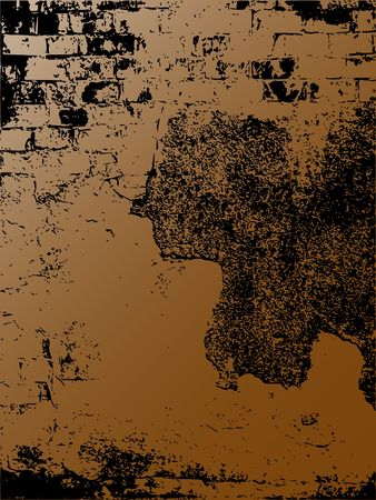 worn structure: Abstract grunge background like wall theme - illustration