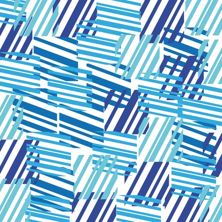 design pattern: Abstract background made from blue colored rectangles  Illustration