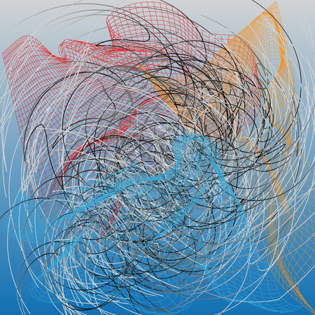 fishing net: Abstract nets