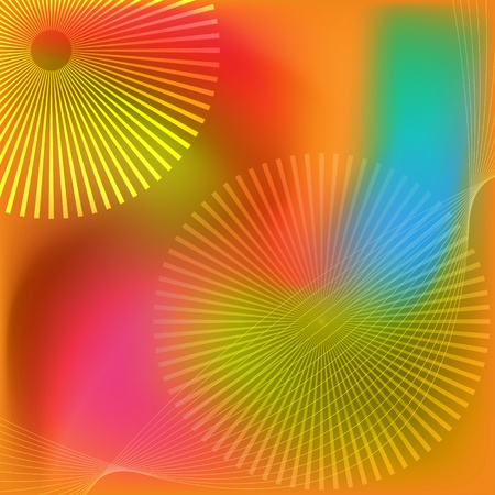 Beautiful abstract colored background with lines. photo