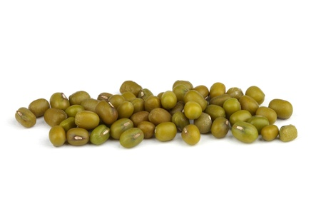 Mungo beans isolated on white background  photo