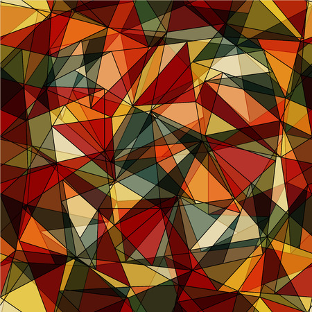 Abstract background made from triangles - vector illustration. You can use it to fill your own background. Vector