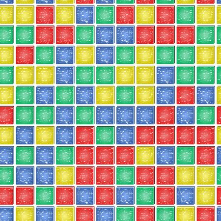 Mosaic seamless - vector illustration. You can use it to fill your own background. Vector