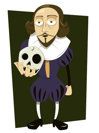 William Shakespeare Stock Vector - 15616550