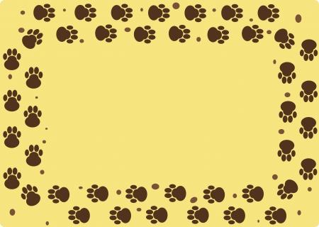 dog tracks Stock Vector - 21705154