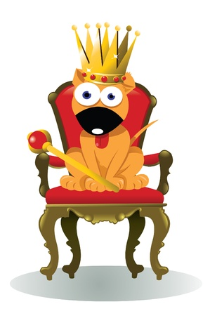 King of the House Stock Vector - 21959378