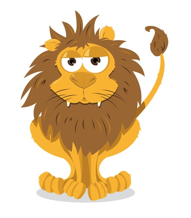 Cute Lion Stock Vector - 21959382