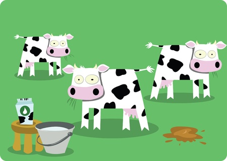 dung: Funny Cows