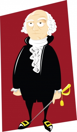 george washington: Mr George Washington Illustration