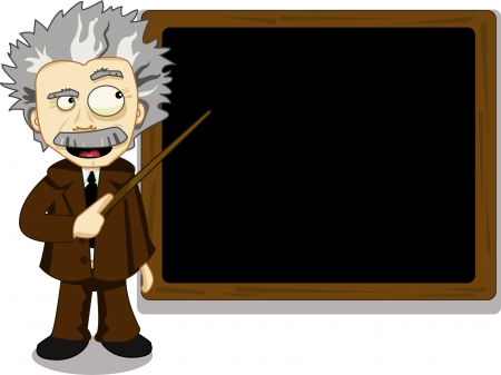 Funny Teacher Stock Vector - 21959576