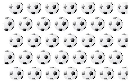 Soccer Pattern Stock Vector - 22095978