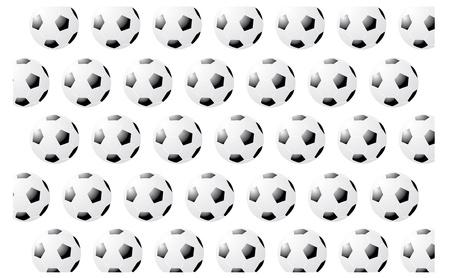 Soccer Pattern Stock Vector - 22095978