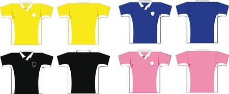 Soccer Shirts Stock Vector - 22096133