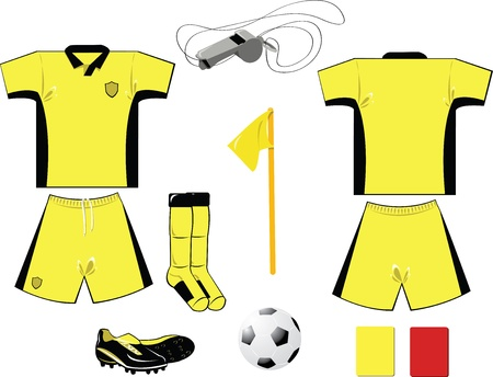 arbiter: Yellow Arbiter Equipment Illustration