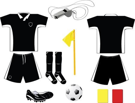 football shoe: Black Arbiter Equipment
