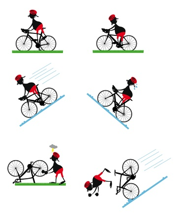 athleticism: Funny Bicycle man