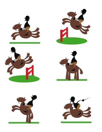athleticism: Funny Equitation man