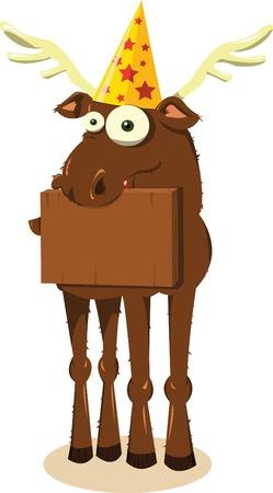 Party Reindeer Stock Vector - 22061657