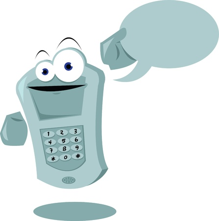 Funny Cellular Stock Vector - 22015542