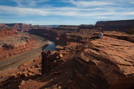 Colorado River Overlook Stock fotó