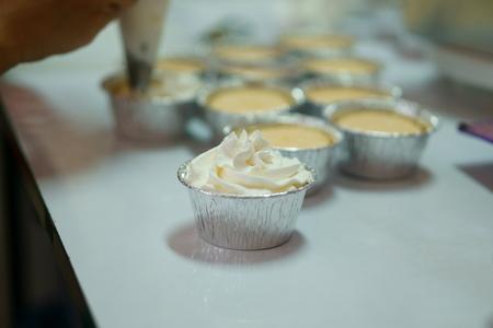 decorating: Decorating Cup Cake
