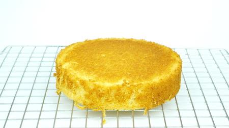 Cake making Stockfoto