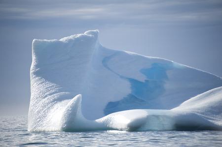 icefjord: Icebergs of polar regions, Greenland Stock Photo