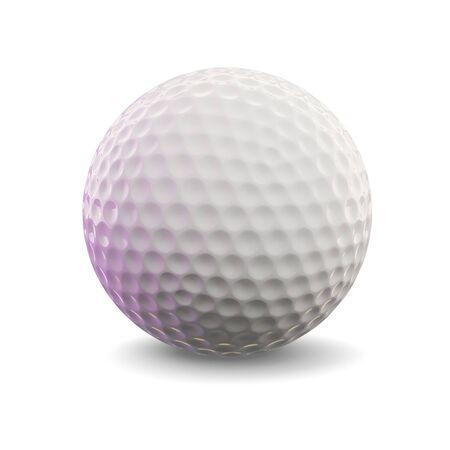 3D render van een golfbal  Stockfoto